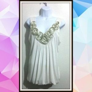 Goddess Sleeveless Blouse Tunic Top   Plus Size XL